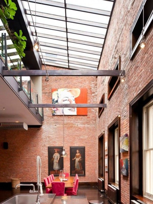 Architecture tribeca loft mansion has million dollar style