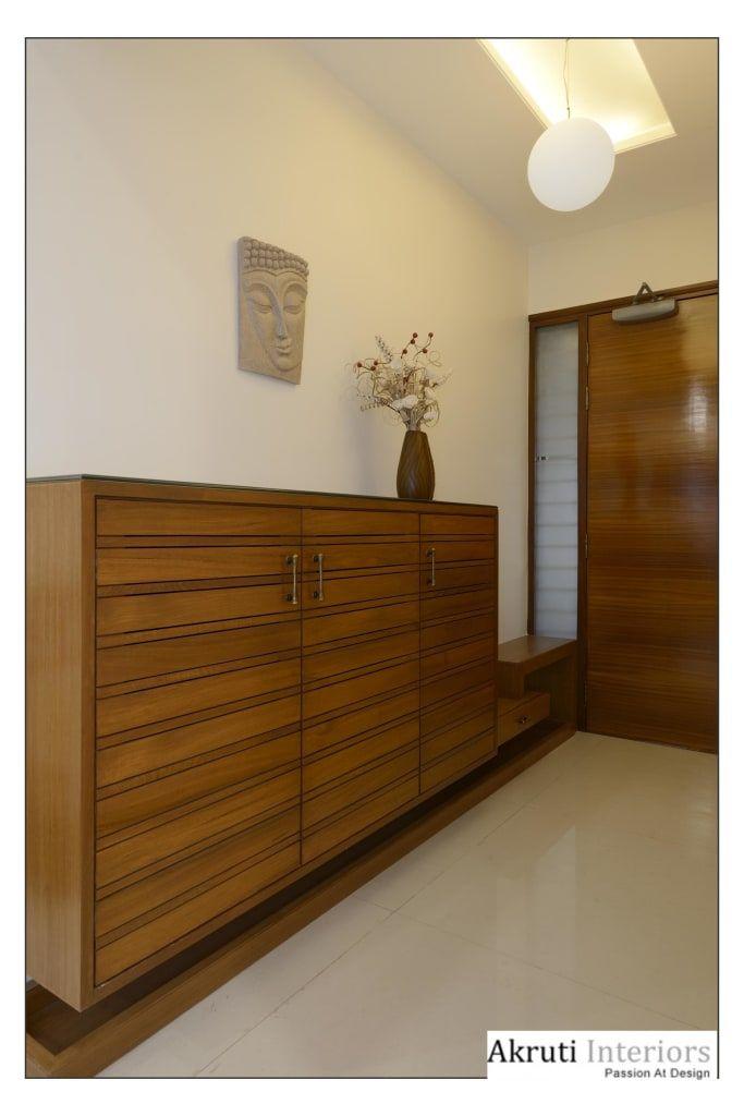 Entrance Lobby Modern By Akruti Interiors Pune Modern Plywood