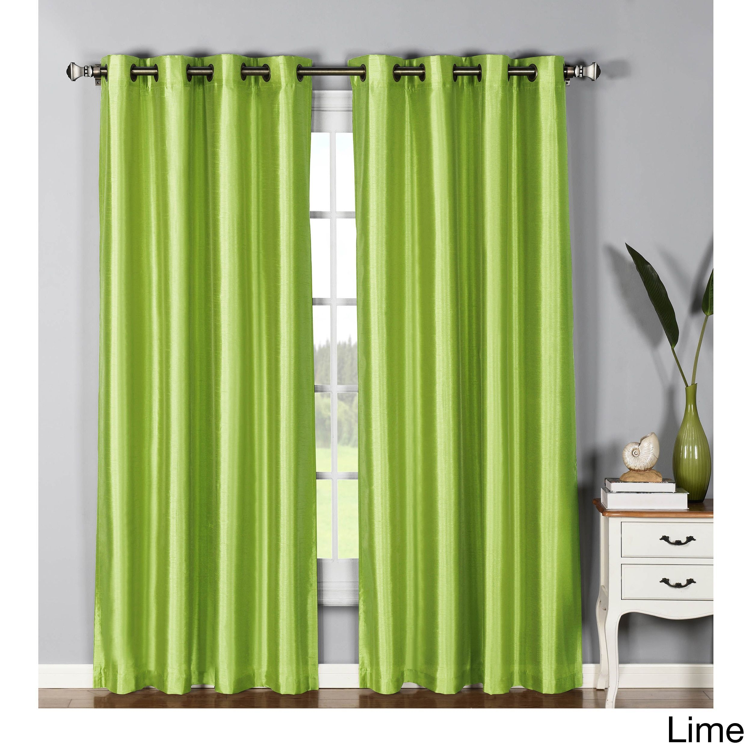 inch window curtain panel elements wide printed extra grommet juneau pin pair cotton curtains