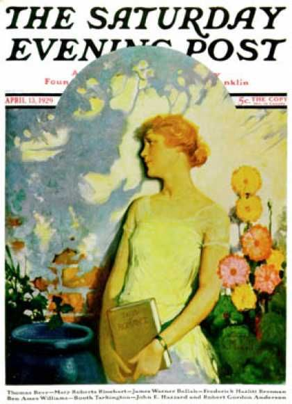 Saturday Evening Post - 1929-04-13