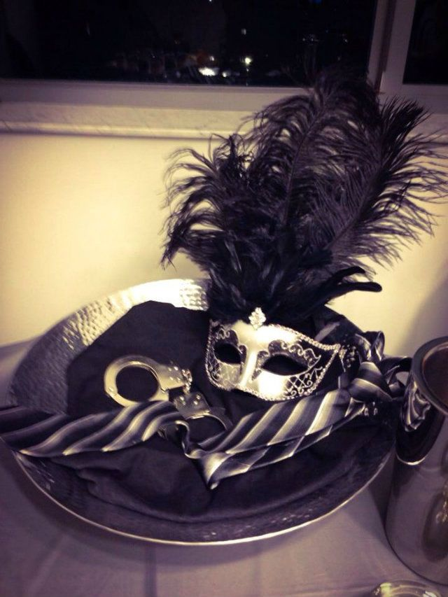 Decoration ideas for a 50 Shades of Grey Party