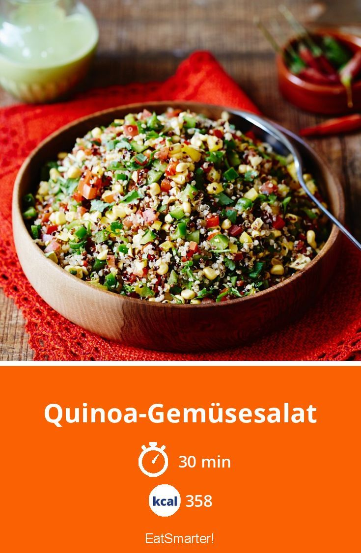 Photo of Quinoa vegetable salad