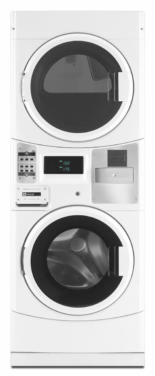 Maytag Mle20prwh Stacked Washer Dryer Units Washer And Dryer