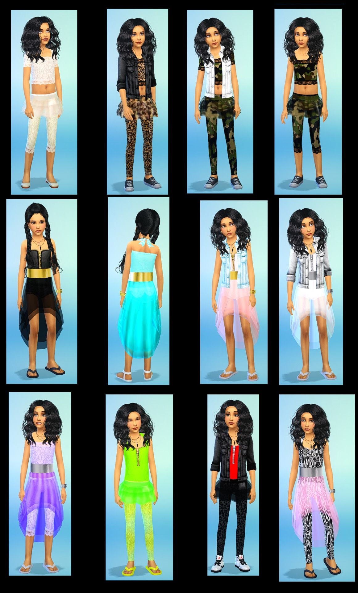 Parisiennes Sims 4 - Google Search