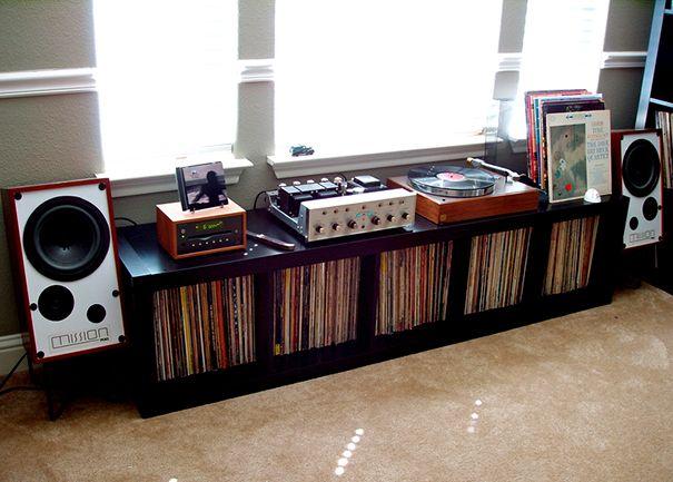 Cool Vinyl Record Storage Ideas Home Tweaks Vinyl