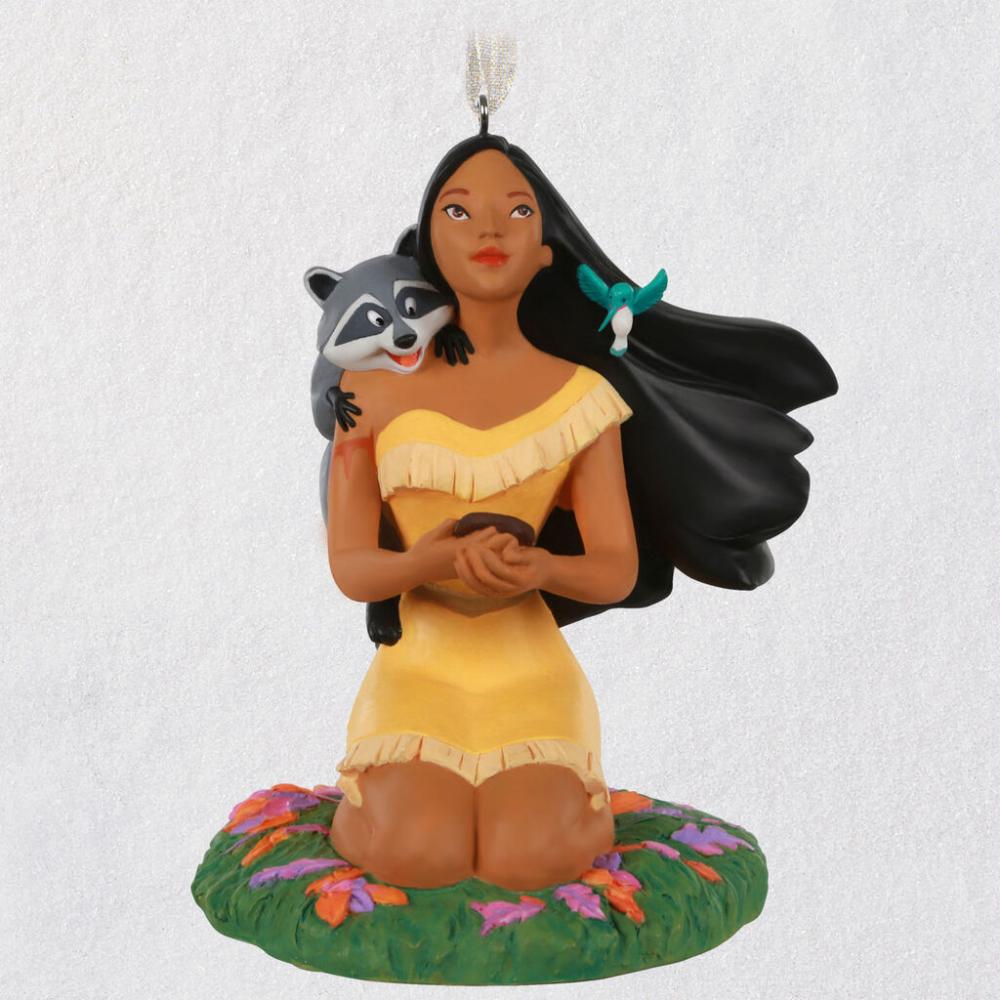 Disney Pocahontas 25th Anniversary Porcelain Ornament Keepsake Ornaments Hallmark Disney Ornaments Disney Pocahontas