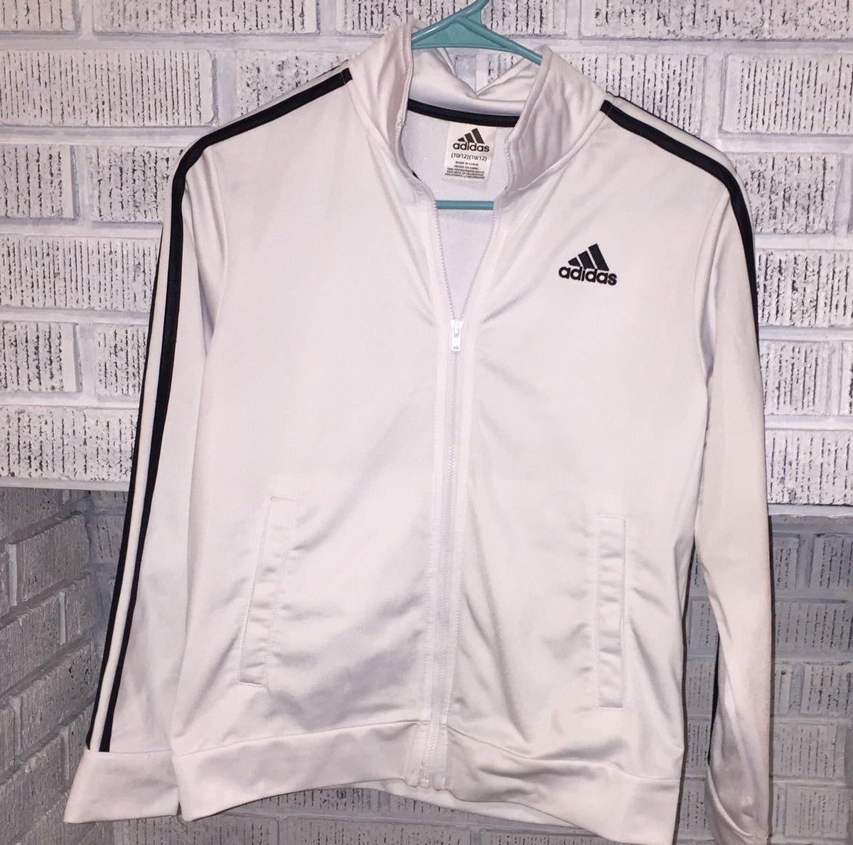 Boys Youth 10 12 Adidas Jacket Good Cond 2020