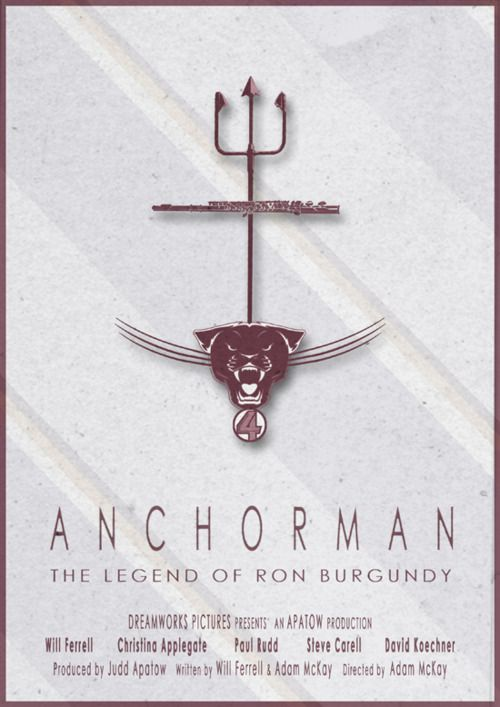 Anchorman The Legend Of Ron Burgundy By 3ftdeep Anchorman