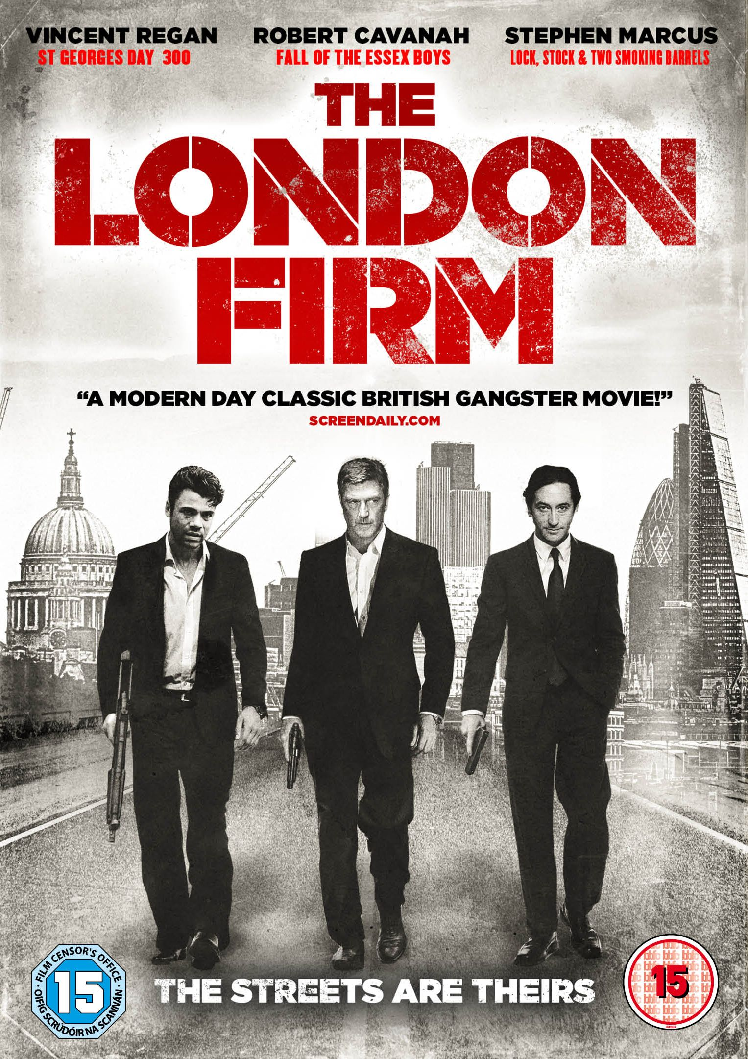 Red Rock Entertainment Film Finance Company Vincent Regan Gangster Movies Film Finance