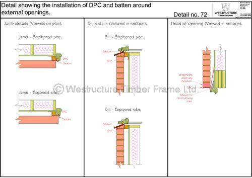 Image Result For Window Dpc Detail Window Detail Installation