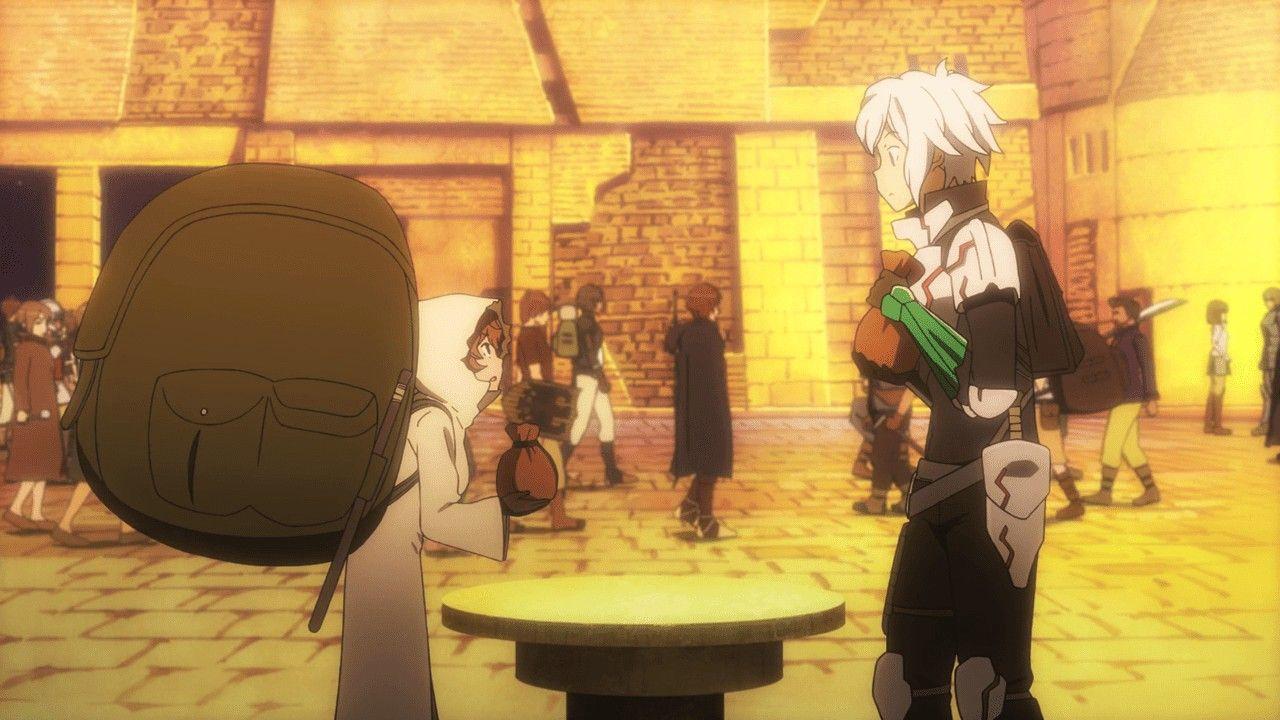 Episode 4 Supporter The Weak Danmachi Crunchyroll