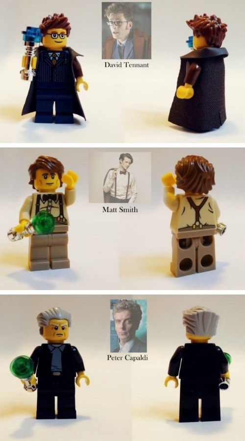 Make Your Own Time Traveling Adventures With Custom Doctor Who Lego