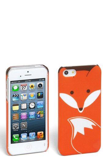 Coque iphone 5s fox