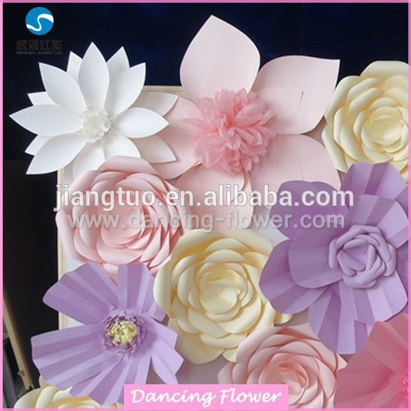Source christmas amazing paper flowers wall backdrops wfam 86 on m source christmas amazing paper flowers wall backdrops wfam 86 on mibaba junglespirit Choice Image