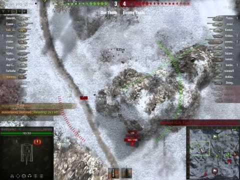 World of tanks Hummel + Tiger II Platoon Severogorsk Gameplay - YouTube