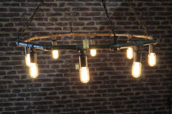 This industrial style chandelier is a fantastic addition to our vast this industrial style chandelier is a fantastic addition to our vast range of interior lighting and aloadofball Images