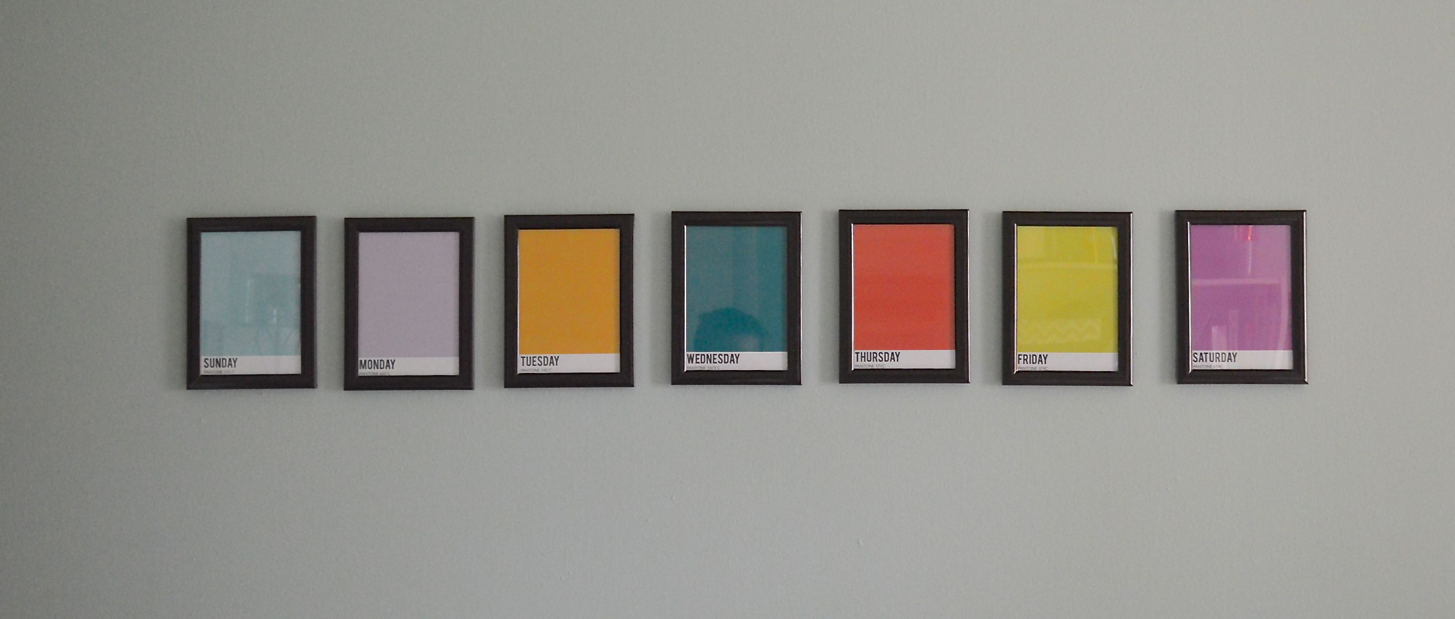 Great Idea For The Office Walls.