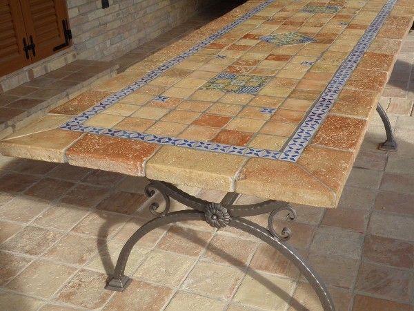 Il Rustico, tavoli da giardino, tavoli in mosaico, tavoli ...