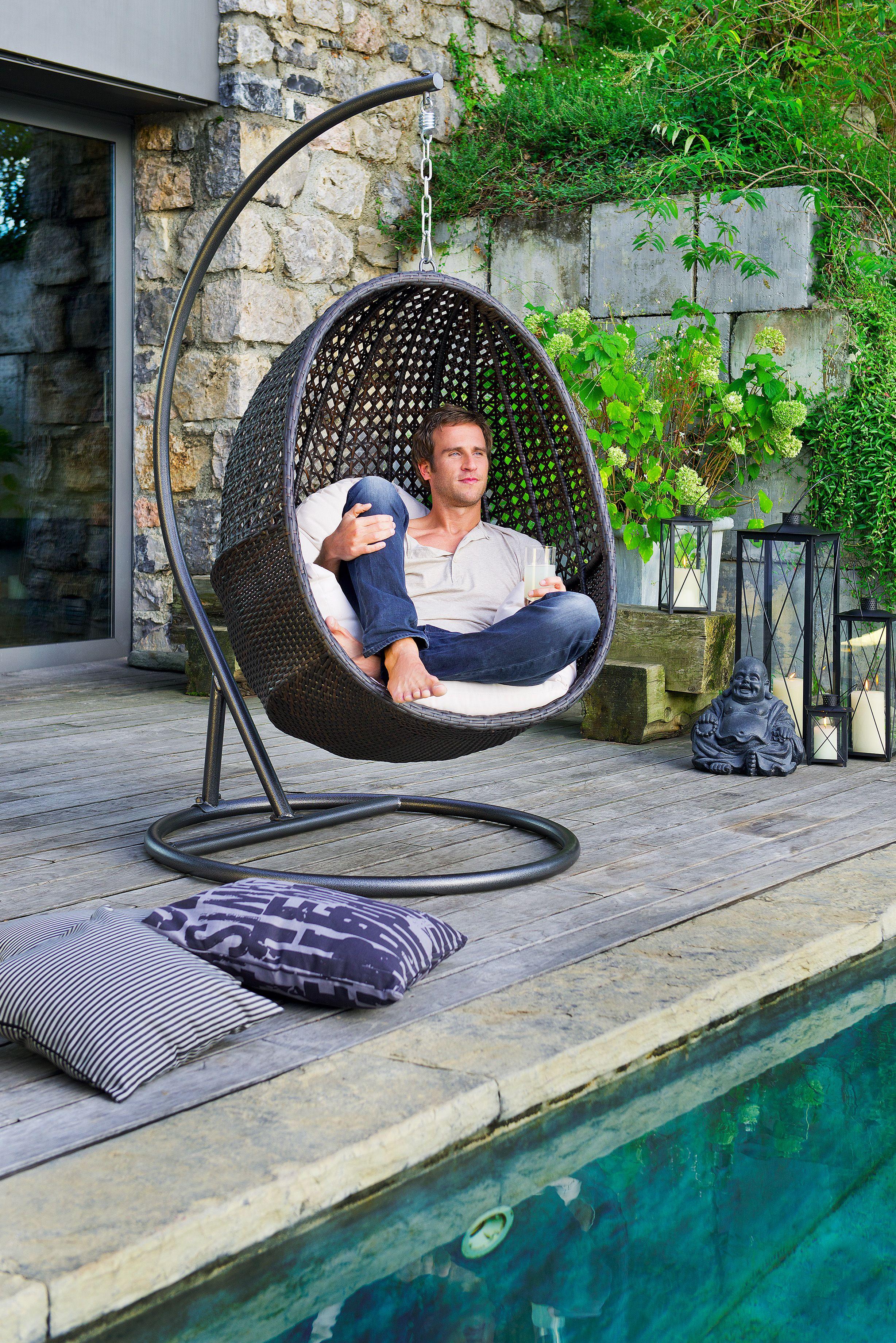 einfach mal abh ngen der geflecht h ngesessel l dt ein. Black Bedroom Furniture Sets. Home Design Ideas