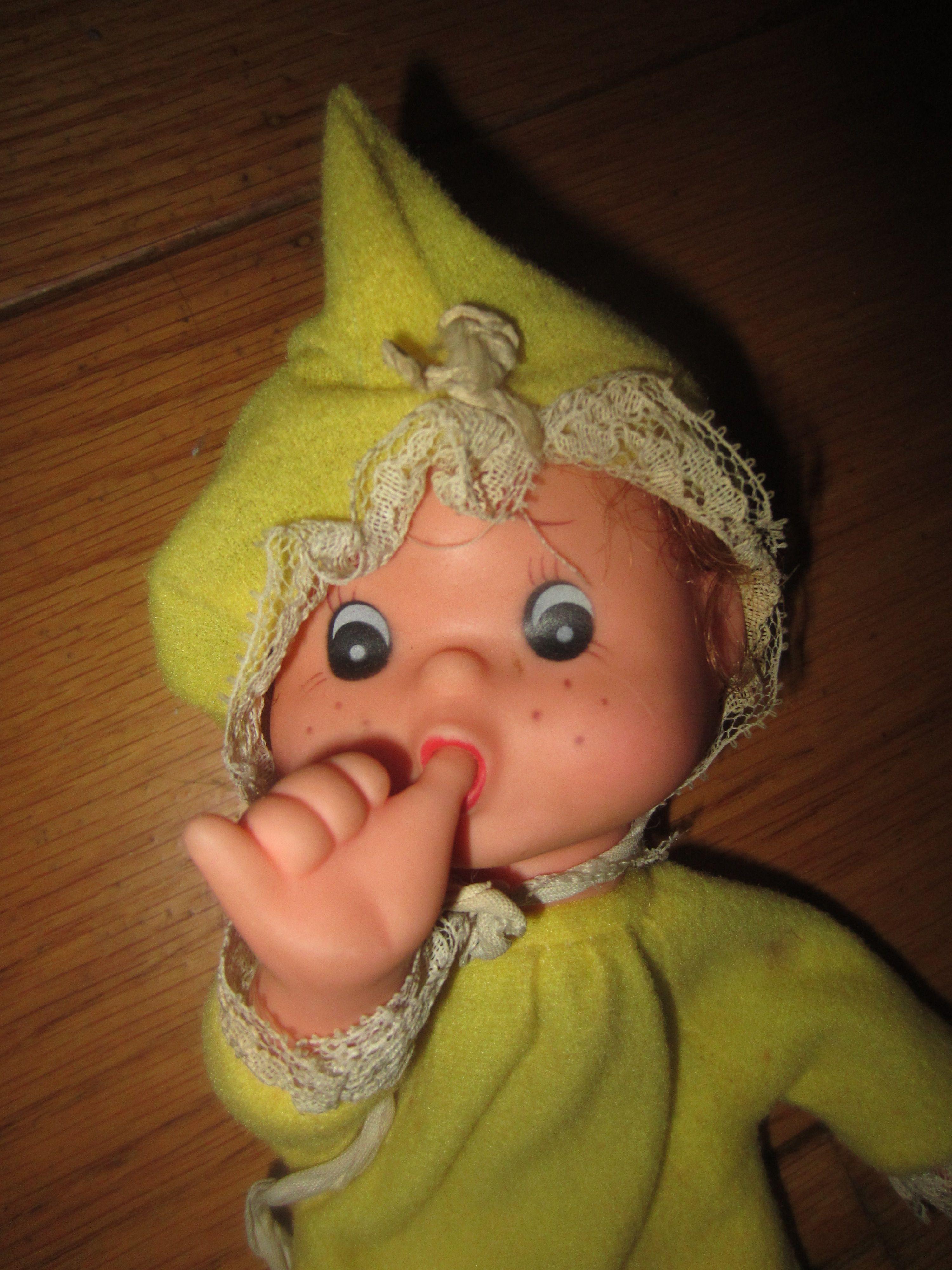 Vintage Baby Beans Thumb-sucking Doll Hong Kong Kitschy Toy   My ...