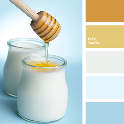 Honey White Blue And Their Shades A Palette That Is