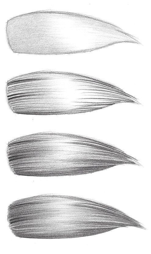 How To Draw Realistic Hair Easiest Way Realistic Drawings How To Draw Hair Drawing Techniques