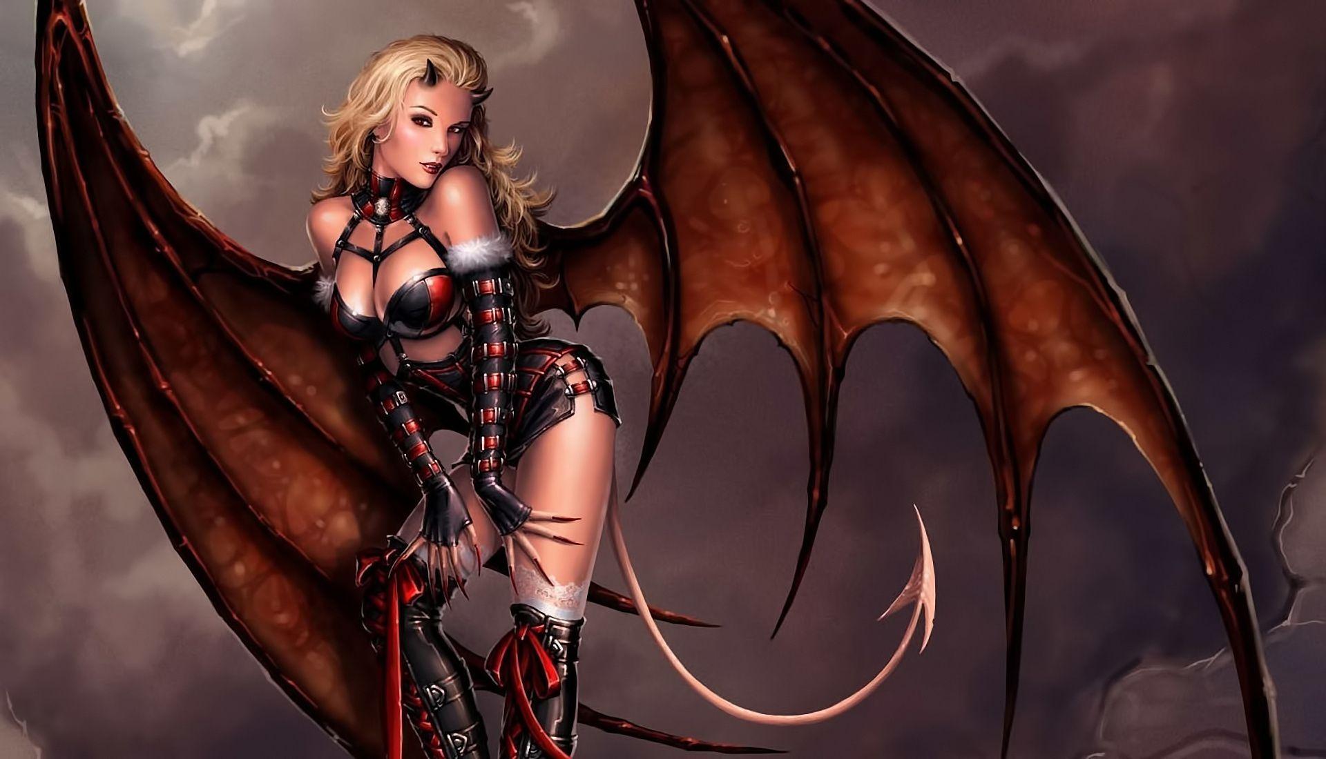 Картинки дьяволы девушки
