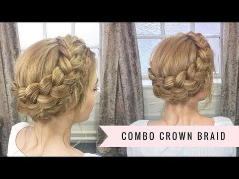 Flower Accented Side French Braid Spring Hairstyles Bonita Hair Do Youtube Crown Hairstyles Flower Crown Hairstyle Crown Braid