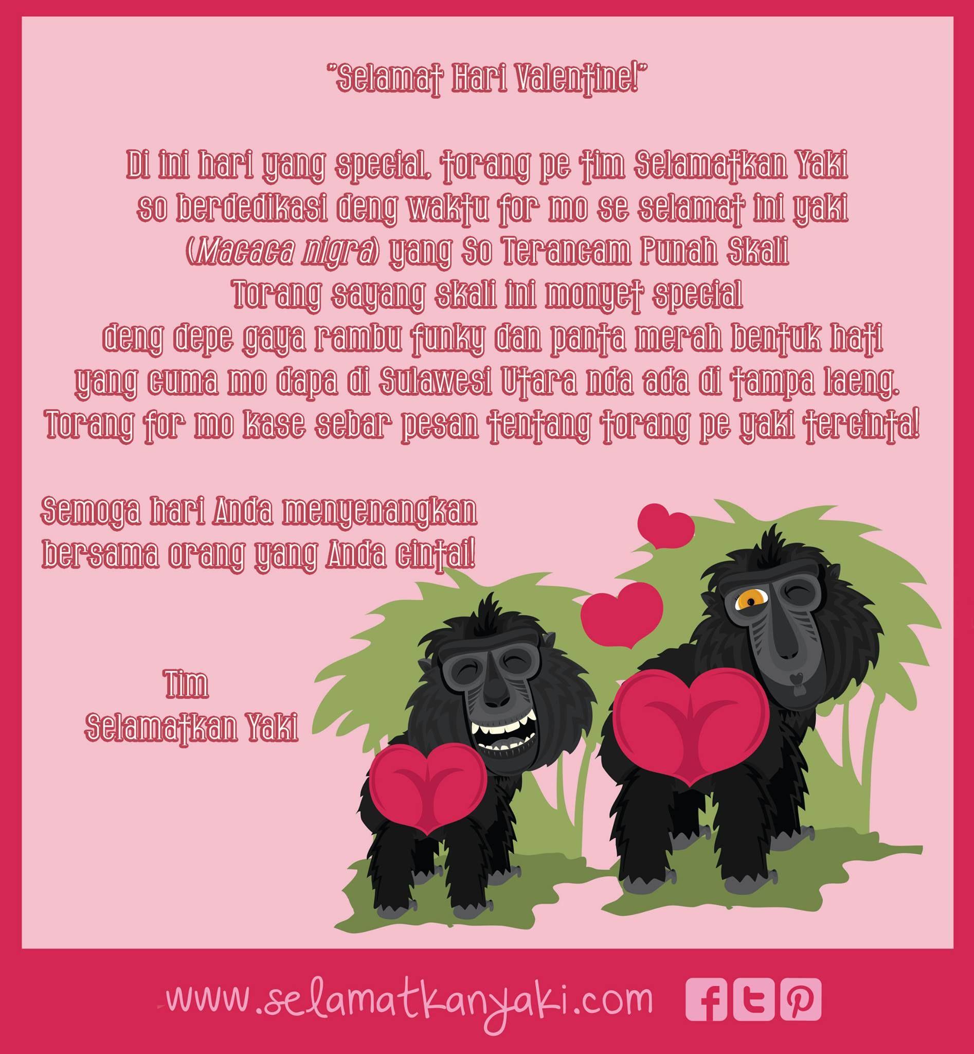 Happy Valentine S Day From Our Selamatkan Yaki Team Bentuk