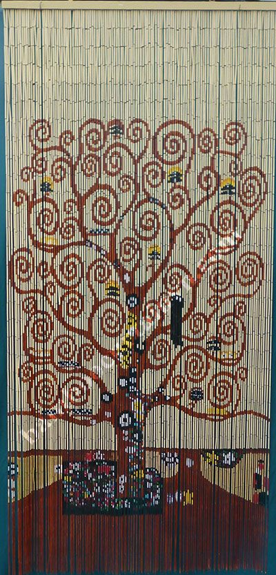 Beaded Door Curtains Wall Hanging Room Divider Beads Tree Of Life