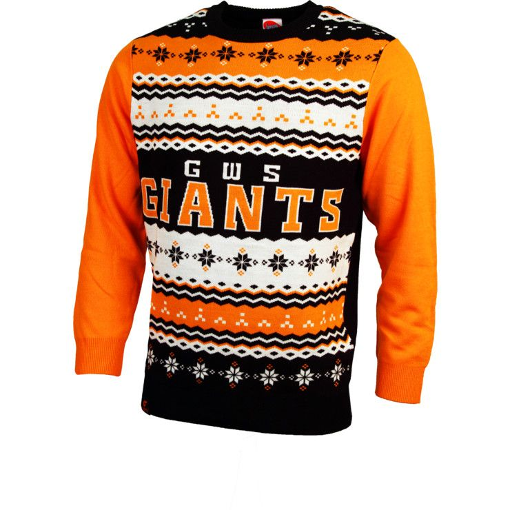 6e2fe04292e4 Get into the festive season this year with a GWS Giants Mens Team Ugly  Sweater!