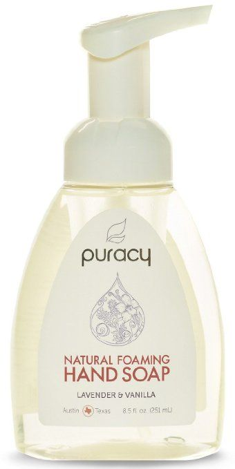 Puracy Natural Foaming Hand Soap Sulfate Free Lavender