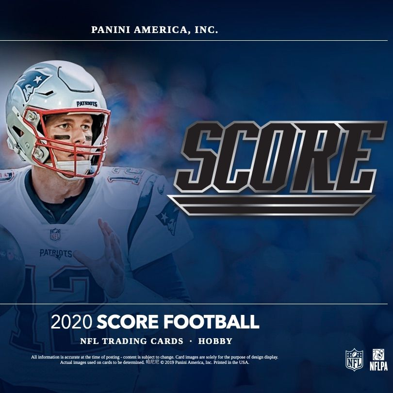 2020 Score Football Checklist Nfl Set Info Release Date Reviews