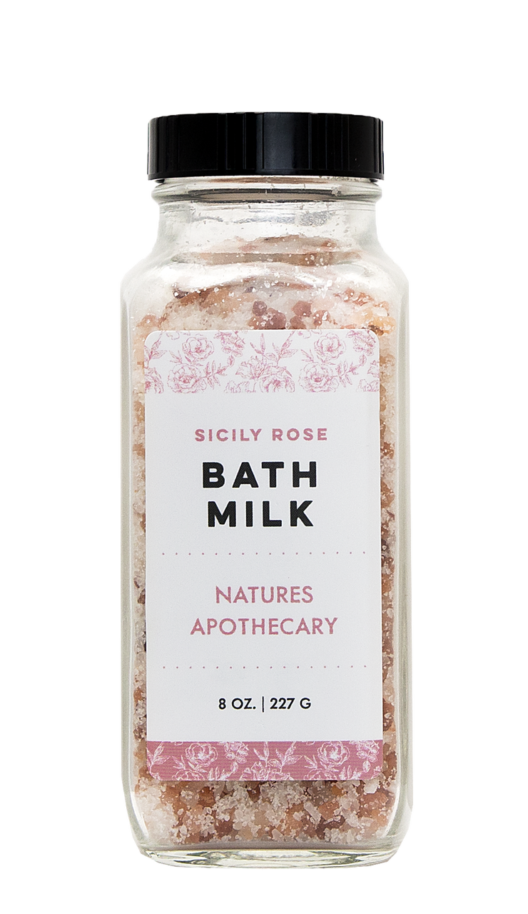 Sicily Rose Coconut Milk Bath Salt #milkbath