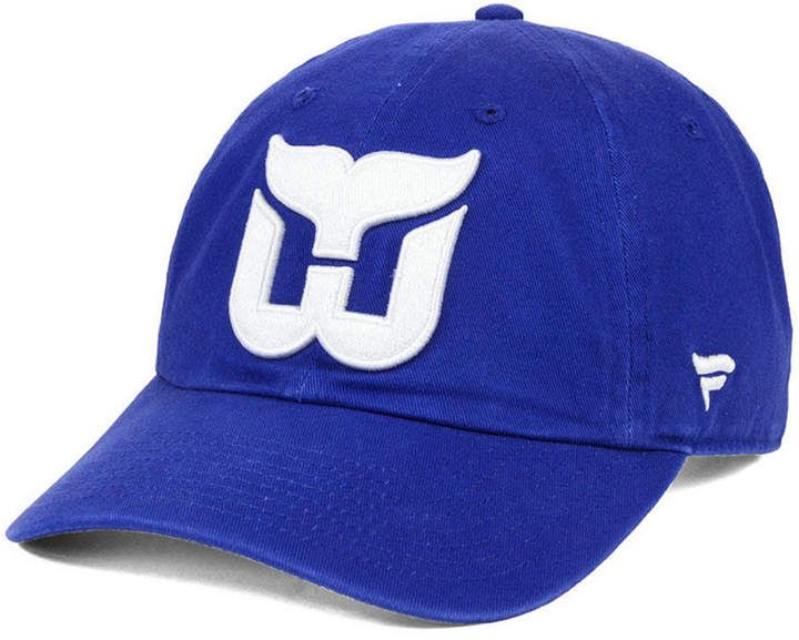 sports shoes f0583 f5819 Hartford Authentic Nhl Headwear Whalers Fan Relaxed Strapback Cap