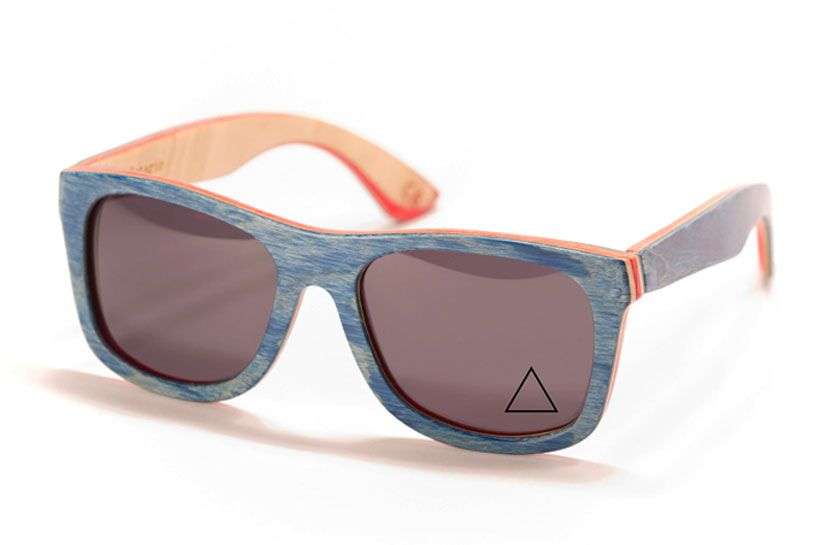 746e474107 sunglasses made from skateboards by proof american company proof uses 5-ply  canadian maple skateboard decks to handcraft a unique set of eyewear. an ...