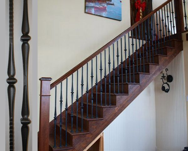 Metal Spindles Staircases