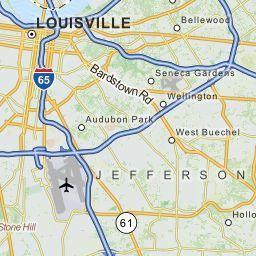 Louisville Kentucky KY Zip Code Map  Locations Demographics