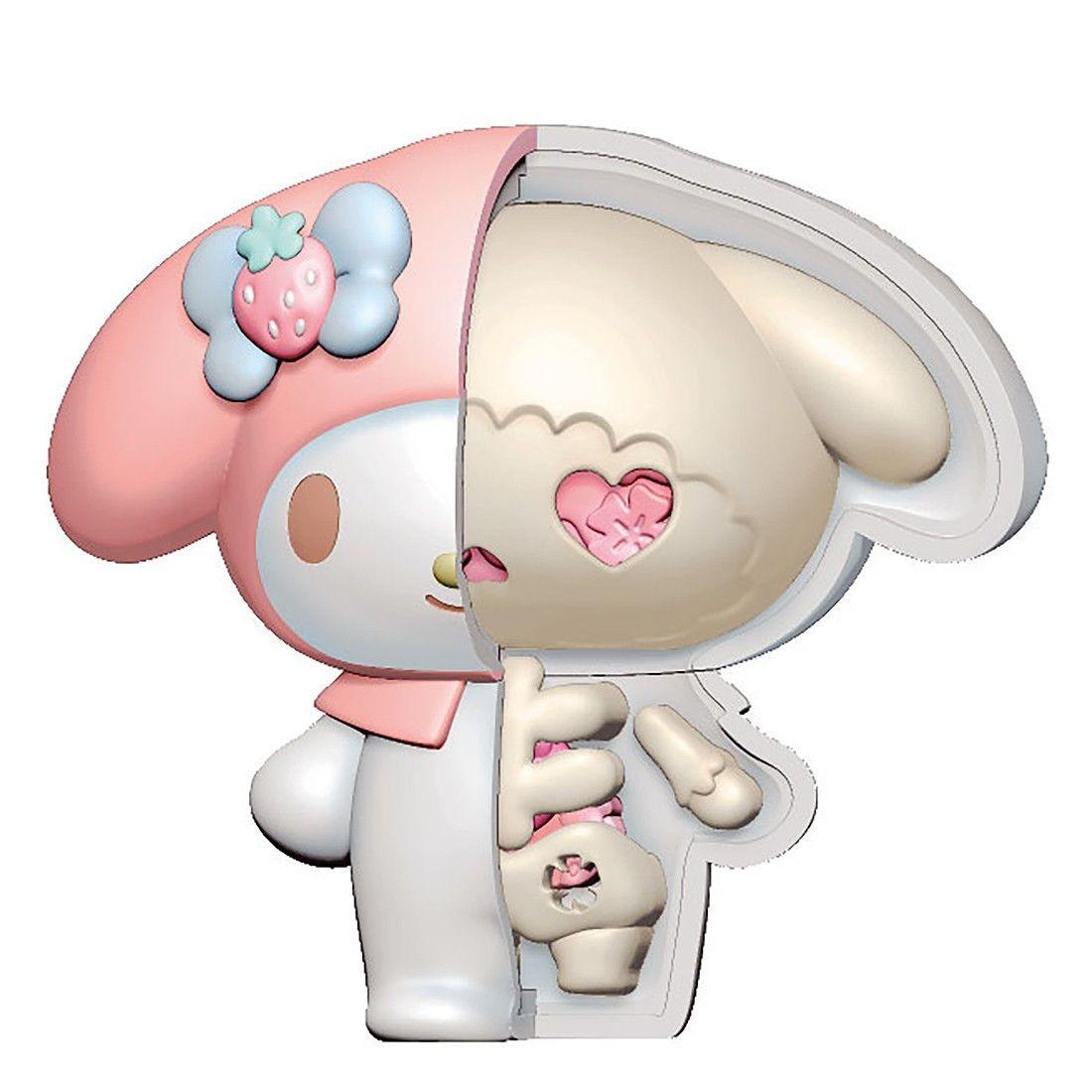MegaHouse Sanrio KAITAI Fantasy Sanrio Characters