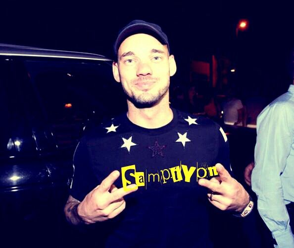 Wesley Sneijder 4★★★★ Galatasaray Şampiyon