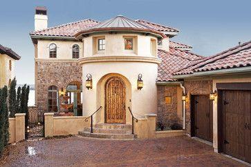 palmieri residence mediterranean exterior austin by vanguard rh pinterest com