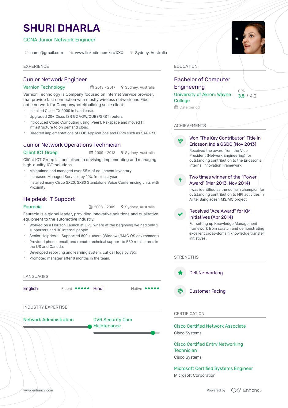 Entry Level Network Engineer Resume Samples 6 Examples Featured Network Engineer Resume Examples Job Resume Examples