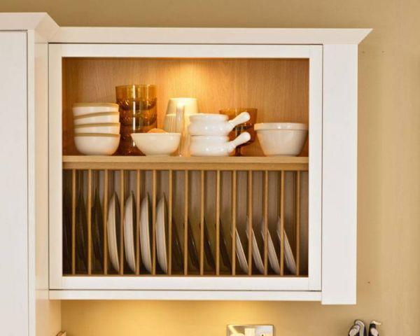 Dish Rack Shelf Eight Wooden Racks For A Clic Kitchen Decor Hometone