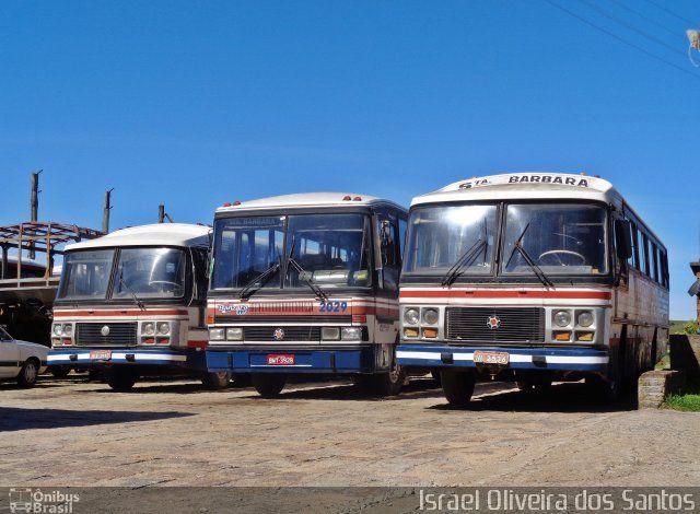 Ônibus Da Empresa Santa Bárbara, Carro 18, Carroceria Marcopolo II, Chassi  Mercedes Benz LPO 1113. Foto Na Cidade De Canguçu RS Por Israel Oliveira  Dos ...