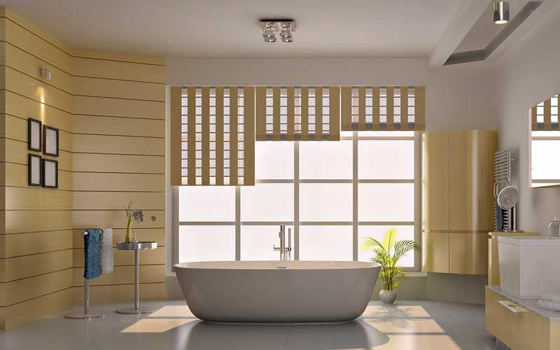 Vinylbehang Voor Badkamer : Moderne badkamer design badkamers badkamer