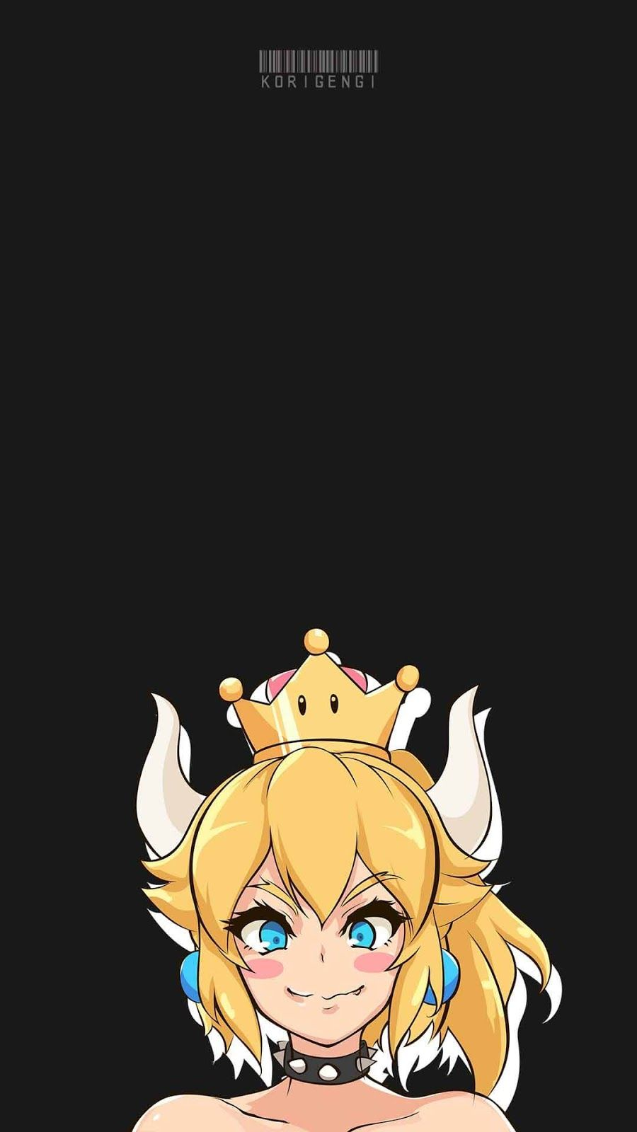 Bowsette - Mario Bros Wallpaper