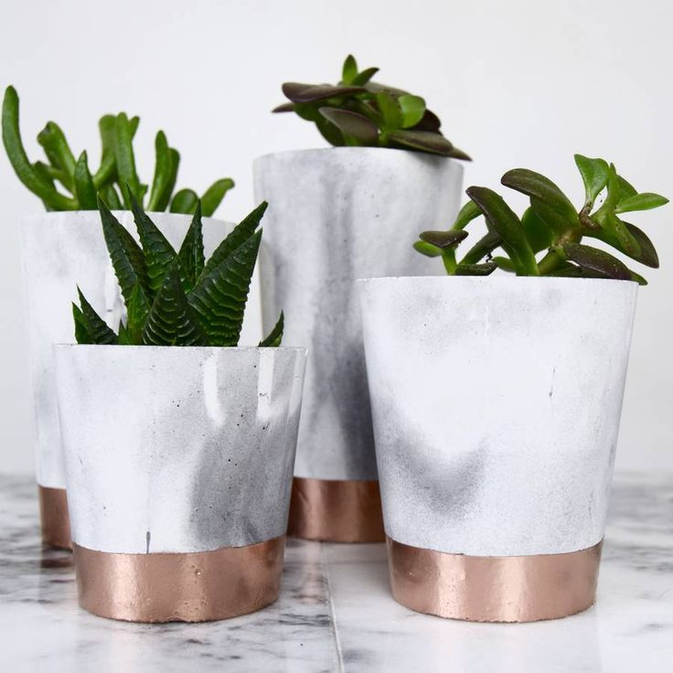 interesting concrete planter. Are you interested in our copper dipped marble pots  With cement concrete with and need look no further Planters interesting planters tall Extra Large Copper
