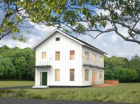 Bensonwood Launches Unity Homes Line Of Energy Efficient Prefabs Barn Style House Plans Barn Style House Barn House Plans
