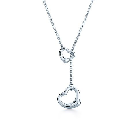 Tiffany & Co. | Item | Elsa Peretti® Open Heart lariat in sterling silver. | United States