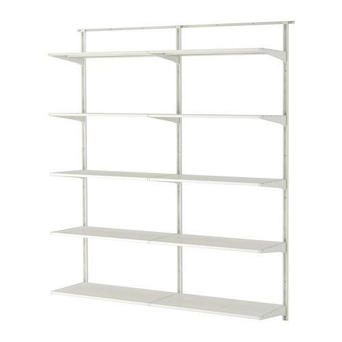 Regalsystem wandschiene ikea  ALGOT Wandschiene/Böden IKEA | Home wall floor | Pinterest